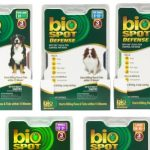 Pack of three products to combat fleas and ticks
